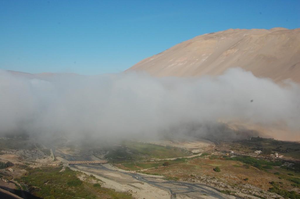 Neblina (Cloud Cover) Leaving Arica, Chile