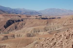 Landscape Above Arica, Chile