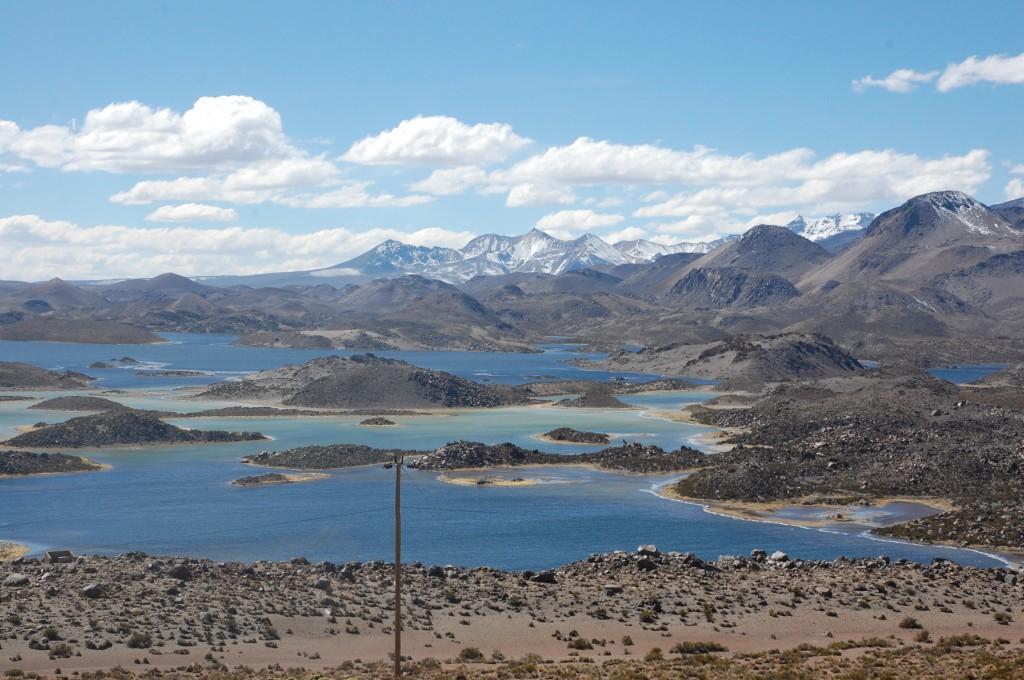 Lagunas Cotacotani, Parque Nacional Lauca, Chile