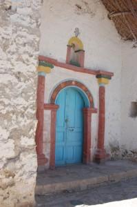 Church at Parinacota, Chile