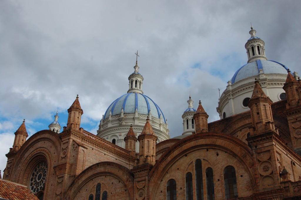 Cathedral in Cuenca, Ecuador