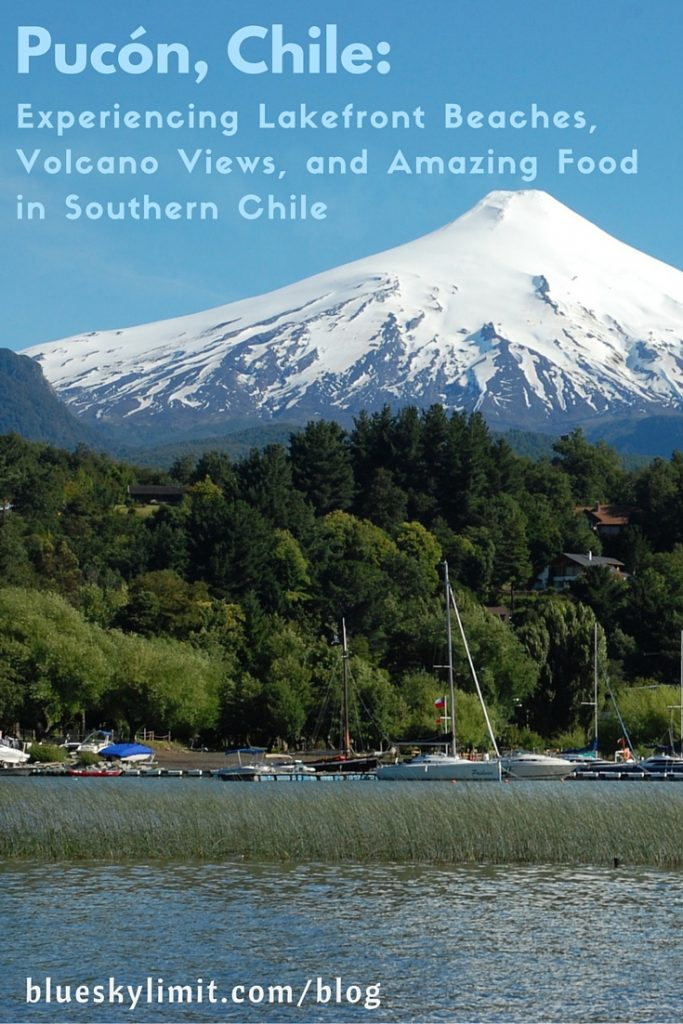 Pucón, Chile - Experiencing Lakefront Beaches, Volcano Views, and Amazing Food in Southern Chile