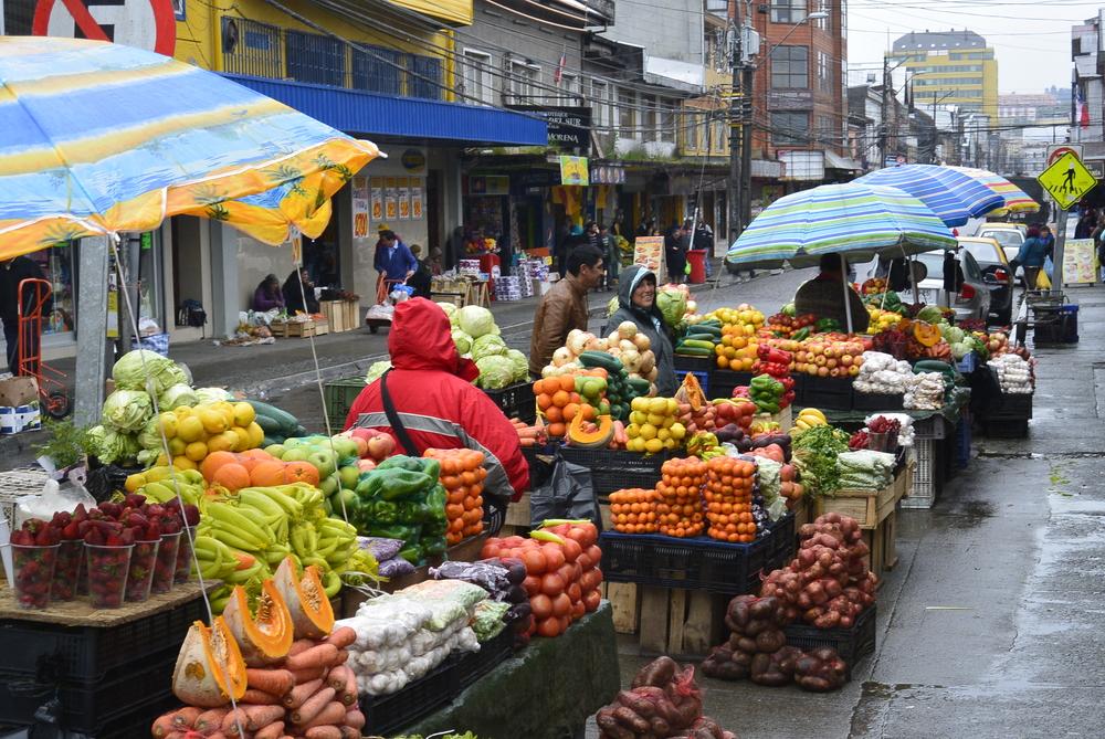 Mercado Puerto Montt Chile