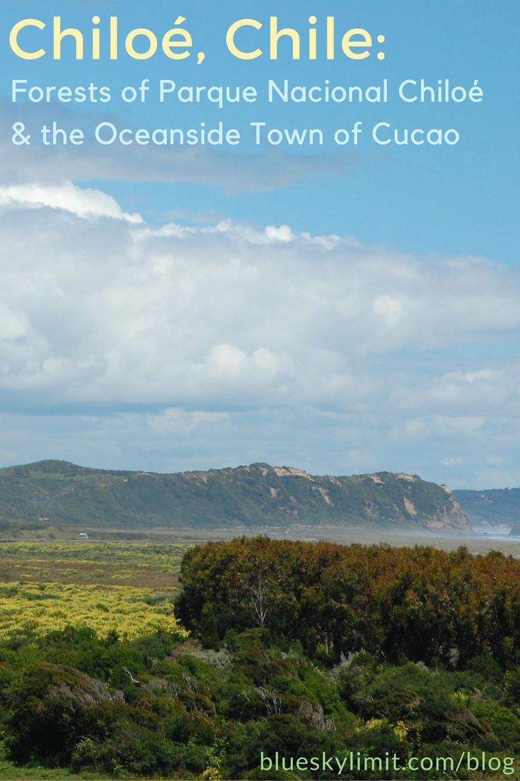 Chiloe, Chile- The Forests of Parque Nacional Chiloé and the Oceanside Town of Cucao